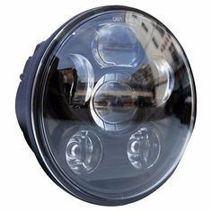 2006 Sterling A//AT 9500 SERIES Post Mount Spotlight -Chrome Driver Side with Install Kit 6 inch 100W Halogen