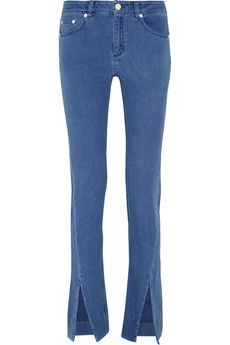 Acne Studios Orlando cotton-flannel skinny pants | THE OUTNET