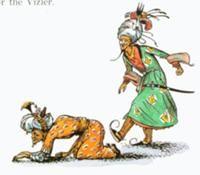 Prince Rabadash kicking Ahoshta Taarkan