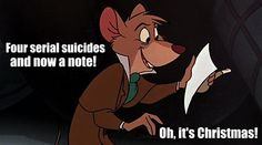 Sherlock / The Great Mouse Detective - oh it's Christmas!