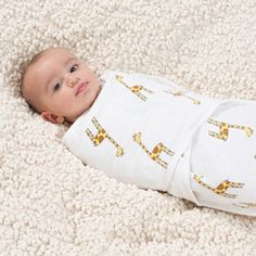 The fabric of our jungle jam giraffe easy swaddle has a perfect open weave, which can help reduce the risk of overheating so your little one stays comfy all night long.