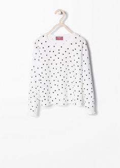 MANGO KIDS - Star print sweater #SS15