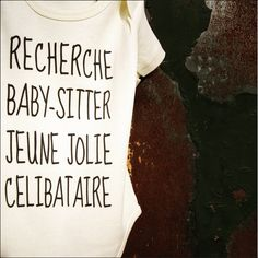 Votre profil correspond ? Contactez baby ! 📞 Monsieur Tshirt, Book Instagram, T Shirts For Women, Baby, Father's Day, Baby Humor, Infant, Babies, Babys