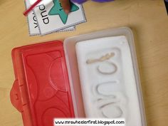 Salt Boxes for Sight Word Practice: High Engagement for Kindergarten and First Grade