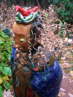 Detail, Bird Woman by TammyVitale.com