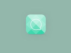 Chat App Icon by Luca Burgio