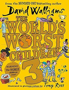 The World's Worst Children Fiendishly funny new short stories for fans of David Walliams books by [Walliams, David] Art Books For Kids, Kids Activity Books, Book Activities, Childrens Books, David Walliams Books, Good Books, Books To Read, Amazing Books, Mindfulness For Kids