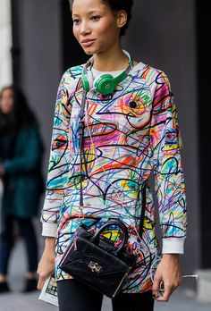 The Top Model Street-Style Stars of 2016 Star Fashion, Look Fashion, Diy Fashion, Ideias Fashion, Fashion Outfits, Womens Fashion, Fashion Design, Fashion Edgy, Fashion 2018