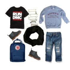 Set 12 Run Dmc, Fall Capsule Wardrobe, Running, Boys, Polyvore, Image, Fashion, Baby Boys, Moda