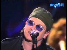 Bono (U2) and  Pavarotti   One and  Ave Maria