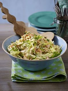 american white cabbage salat / Amerikanischer Krautsalat  amerikaanse witte kool salad  LECKER.de.