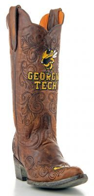 Georgia Tech University Game Day Boots- $399. call (281)240-0752