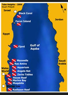 Taba Heights Dive Sites with Red Sea Waterworld