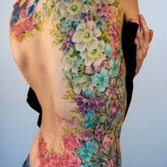 victorian flower tattoo - Google Search