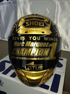 "Shoei X-Spirit II M.Màrquez ""World Champion MotoGP 2014"" by Drudi Performance & DiD Design"