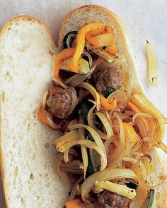 Meatball Hero - Martha Stewart Recipes