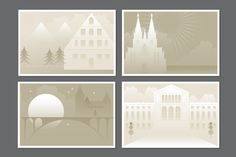 Check out Buildings by EightHourDay on Creative Market