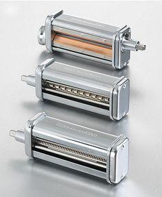 KitchenAid KPRA Stand Mixer Attachment, Pasta Roller - Stand Mixers & Attachments - Kitchen - Macys