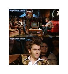 """Jeremy: """"Do you know how the TARDIS works?"""" David: """"Of course I do!"""" Jeremy: """"How does it work?"""" David: """"You wouldn't understand."""" ♥"""