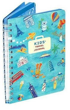 Pre- and Postjourney Journal: Treat each of your children to their very own travel journal. This Kids Travel Journal by Galison Books  ($10) is available at Barnes & Noble, but a blank notebook works just as well. En route to your destination, encourage them to write (or draw) what theyre most looking forward to on the trip, and on the way back, they can reflect on memorable moments.
