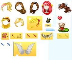 I have wings!!!!!!! Andd ya thats all i want all of hair outfit and board top and sparklers:)