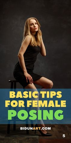 Top posing tips to improve your female portrait photography. Learn the skill of posing with this technical and visual guide for better women portraits.