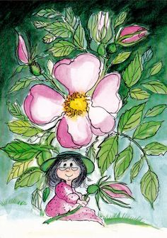Virpi Pekkala Doodle Inspiration, Whimsical Art, Light Art, Cute Illustration, Beautiful Artwork, Art Forms, Painting & Drawing, Cute Pictures, Glass Art
