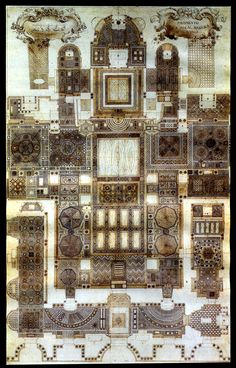 floor plan of the Basilica San Marco
