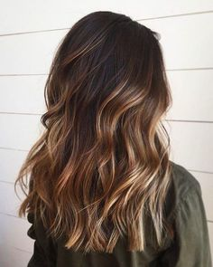 Brunette Hair Color With Highlights, Brown Hair Balayage, Brunette Color, Brown Blonde Hair, Hair Color Balayage, Long Brunette, Balayage Highlights, Brown Hair Shades, Light Brown Hair