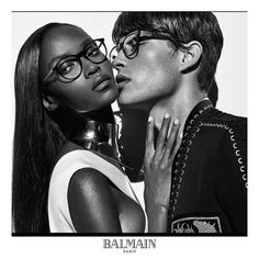 French brand Balmain followed up its supermodel campaign with its spring 2016 eyewear advertisements. Starring Riley Montana and Francisco Lachowski, the black and white images captured by Steven Klein spotlight the optical and sunglass styles. Made with creative direction by Pascal Dangin of KiDS Creative, the advertisements set a sensual mood. Balmain Eyewear Spring 2016 …