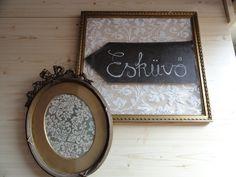 esküvő tábla, felakasztható képkeret