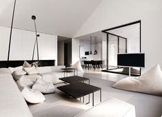 Single-family house interior design, Warsaw by Tamizo Architects