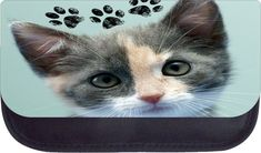 Kitten paws TM Medium Sized Cosmetic Case-Made in the U.S.A. >>> To view further for this item, visit the image link.