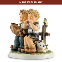 All figurines were produced at the original factory in Rödental, Germany, the only authorized producer of M.I. Hummel figurines in the world. Each figurine meets with the time-honored traditions and quality established by Sister Maria Innocentia Hummel. No detail has been overlooked. The famed M.I. Hummel incised signature also appears on each figurine as your assurance of authenticity.