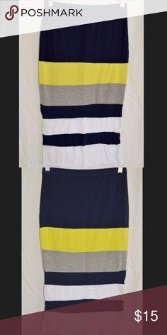 Boohoo Color Blocking Pencil Skirt Color Blocking Pencil Skirt by Boohoo Boohoo Skirts Pencil