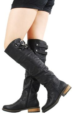 37382d2e6ee1 Black Womens Tall Boots..have these and they are so comfy and durable
