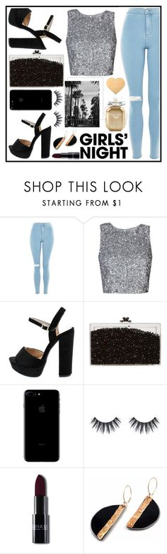 """""""10.11.17"""" by bad-bunny15 ❤ liked on Polyvore featuring Topshop, Ashlyn'd and Victoria's Secret"""