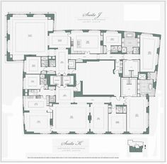 Penthouses in Chicago Floor Plans   am uncertain if this is the 'real' penthouse on the top floor ...