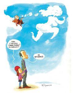 """A lire: la lettre d'une fille à son papa - Terriblement émouvant - """"Papa, t'es là ?"""" par Elsa Wolinski - ELLE - Je suis Charlie"""