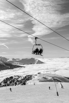 Over the mountains in Chamrousse