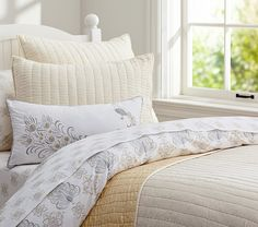 Cozy up with our soft Silk Channel Quilt
