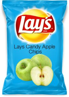 Lays Candy Apple Chips... are these real?!