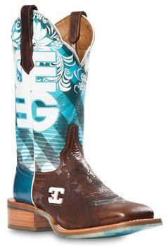 Womens Cinch Edge Malibu Square Toe Cowboy Boot   AA Callisters
