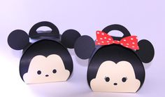 Tsum Tsum Party Favor Boxes by PaperBottega on Etsy