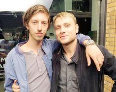 Max Riemelt and Max Mauff Sense8