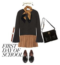 """""""Campus Chic: First Day of School"""" by weird-betty on Polyvore featuring CO, Proenza Schouler, Julie Fagerholt, Rachel Comey and BackToSchool First Day School, Rachel Comey, Proenza Schouler, Weird, Chic, Polyvore, Image, Fashion, Shabby Chic"""