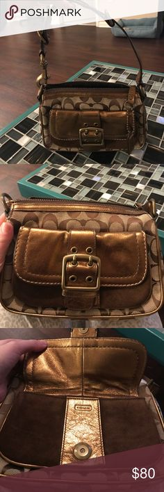 Special edition 2004 coach purse Gorgeous coach purse in excellent condition! Coach Bags Mini Bags
