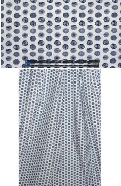 doodle dot graphic cotton/lycra shirting from EmmaOneSock.com