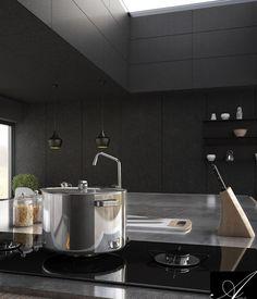dark house sotware used : max vray, photoshop Dark House, 3ds Max, Sink, Photoshop, Interior Design, Home Decor, Sink Tops, Nest Design, Vessel Sink