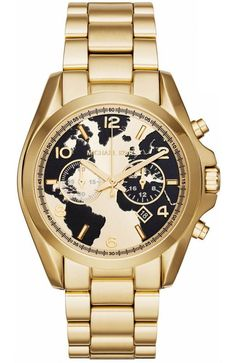 MICHAEL KORS Watch Hunger Stop Runway Gold Stainless Steel Chronograph  MK6272 - E-oro. Ρολόι Michael KorsMichael Kors OutletΓυναικείες Τσάντες ... a5205a241f3